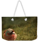 The Sad Chaffinch Weekender Tote Bag