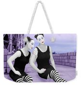 The Sadness - Self Portrait Weekender Tote Bag