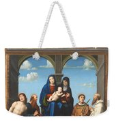 The Saint Anne Altarpiece From San Frediano Lucca Weekender Tote Bag