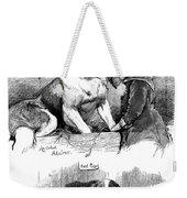 The Saint Bernard Club Dog Show Weekender Tote Bag