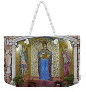 The Saints Are Waiting By The Parking Place Weekender Tote Bag