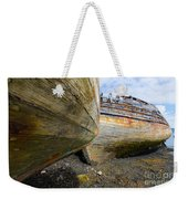 The Salen Wrecks Weekender Tote Bag