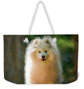 The Samoyed Smile Weekender Tote Bag