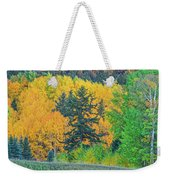 The Sanctity Of Nature Reified Through A Photographic Image  Weekender Tote Bag