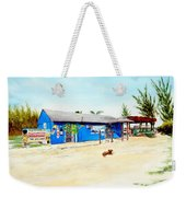 The Sand Bar - Margaritaville, Freeport, Bahamas Weekender Tote Bag