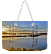 The Saugus River At Dawn Weekender Tote Bag