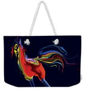 The Scared Rooster Weekender Tote Bag