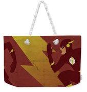The Scarlet Speedster Weekender Tote Bag