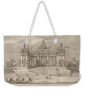 "The School Of Athens Arcades, For The ""chinea"" Festival Weekender Tote Bag"
