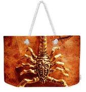 The Scorpion Scarab Weekender Tote Bag