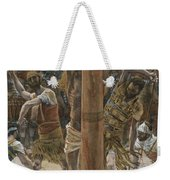 The Scourging On The Back Weekender Tote Bag