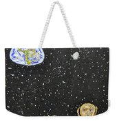 The Scream And Planets  Weekender Tote Bag