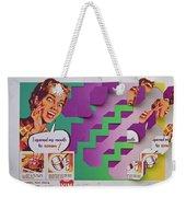 The Scream Weekender Tote Bag