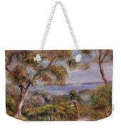 The Sea At Cagnes Weekender Tote Bag