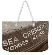 The Sea Crescent Weekender Tote Bag