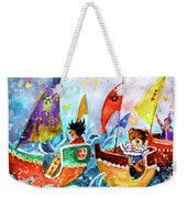 The Sea Cruise Of Tivoli Gardens Weekender Tote Bag