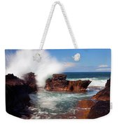 The Sea Explodes Weekender Tote Bag