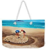 The Sea Surges Up With Laughter Weekender Tote Bag