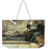 The Secret Weekender Tote Bag by Sir Lawrence Alma-Tadema