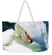 The Seductive Swan Weekender Tote Bag