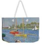 The Seine At Argenteuil Weekender Tote Bag