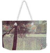 The Seine At Courbevoie Weekender Tote Bag