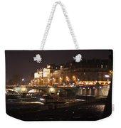 The Seine At Night Weekender Tote Bag