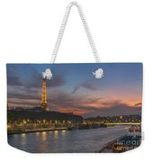 The Seine Evening Weekender Tote Bag