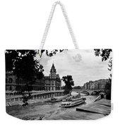 The Seine Paris1 Weekender Tote Bag