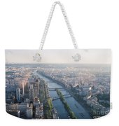 The Seine River In Paris Weekender Tote Bag