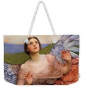 The Sense Of Sight By Annie Swynnerton  Weekender Tote Bag