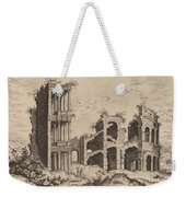 The Septizonium And The Colosseum Weekender Tote Bag