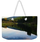 The Serenity Of The Moyie  Weekender Tote Bag