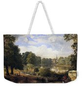 The Serpentine Weekender Tote Bag by Jasper Francis Cropsey