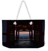 The Setting Sun And Kiyomizu-dera Weekender Tote Bag