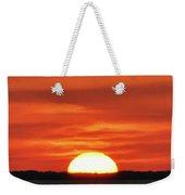 The Setting Sun Weekender Tote Bag