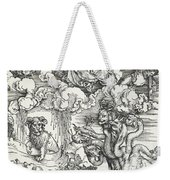 The Seven-headed Beast And The Beast With Lamb's Horns Weekender Tote Bag