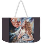 The Seven Spirits Series - The Spirit Of Might Weekender Tote Bag