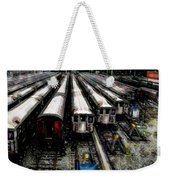 The Seven Train Yard Queens Ny Weekender Tote Bag