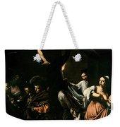The Seven Works Of Mercy Weekender Tote Bag