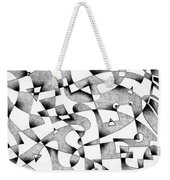 The Seventh Wave Weekender Tote Bag