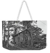 The Shack In Black And White Weekender Tote Bag