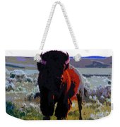 The Shamans Buffalo Weekender Tote Bag