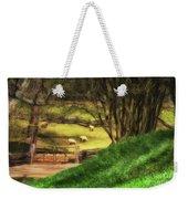 The Sheep's In The Meadow Weekender Tote Bag