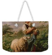 The Shepherdess Weekender Tote Bag by Johann Baptist Hofner