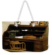 The Sheriff Is Out Weekender Tote Bag