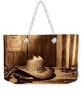 The Sheriff Office Weekender Tote Bag
