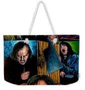 The Shining Weekender Tote Bag