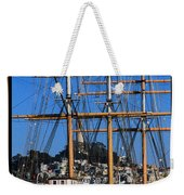 The Ship Balclutha Weekender Tote Bag