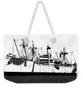 The Ship Weekender Tote Bag